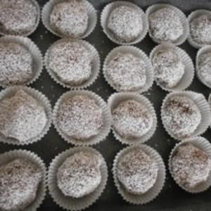 Rumovo-kokosové guľky