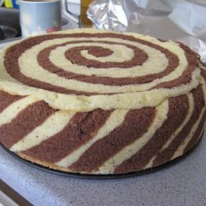 Twister torta