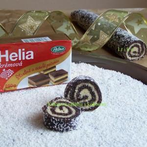 Kakaová roláda s kokosom