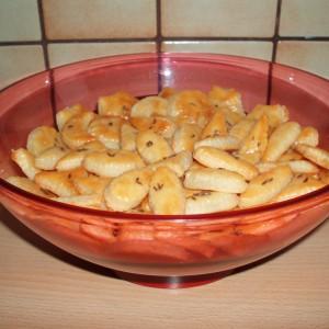 Slané tvarohové chuťovky