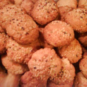 Arašidové cookies