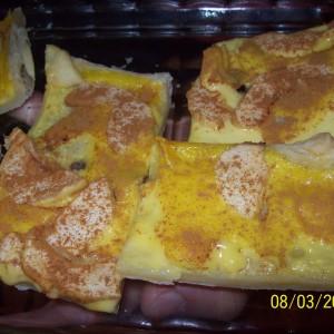 Pudingovo ovocný koláč