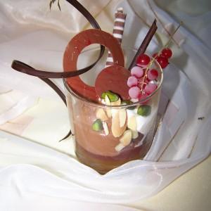 Čokoládový krém s ríbezľami