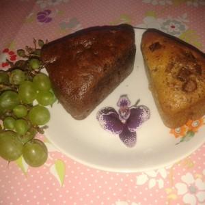 Čokoládovo ovocné tortičky