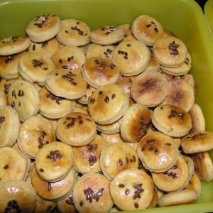 Arašidové slané pečivo