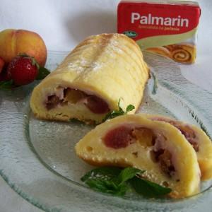 Tvarohový chlebíček s ovocím