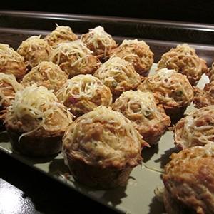 Silvestrovské muffinky (na slano)