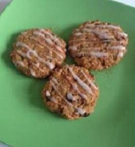 Mrkvové cookies s ovsenými vločkami