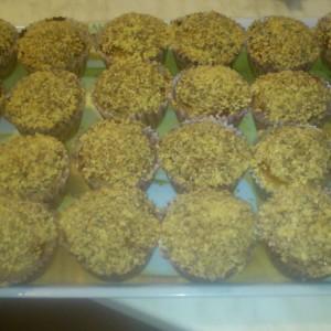 Čokoládovo- orechové muffinky