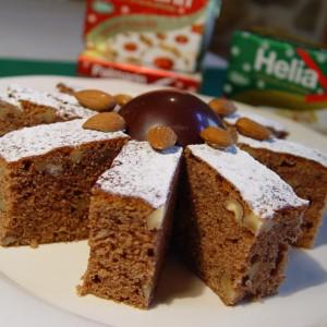 Trený orechový koláč