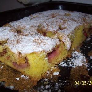 Bodkovaný koláč alebo bublanina