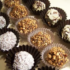 Kokosovo orechové guľky