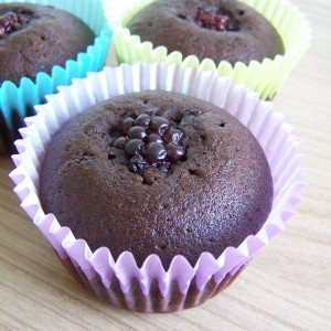 Plnené muffiny
