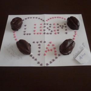 Čokoládové zrná