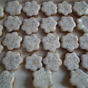 Linecké citrónové koláčiky