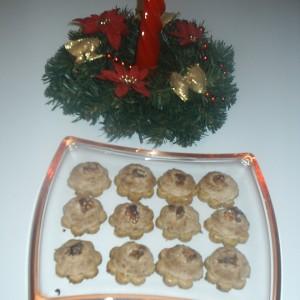 Orechové koláčiky