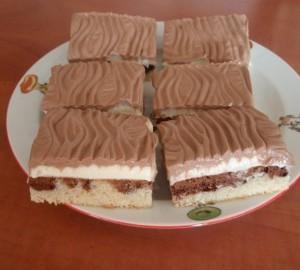 Krémový tvarohový koláč