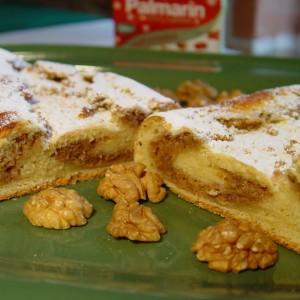 Kysnutý orechový koláč