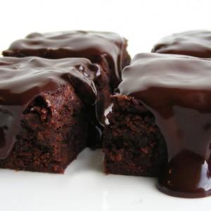 Čokoládové whisky brownies