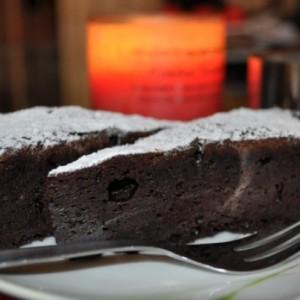 Šťavnatá čokoládová torta