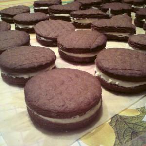 Domáce Oreo sušienky