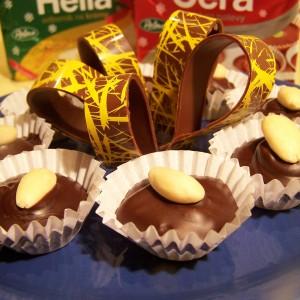 Čokoládové košíčky s lahodným krémom