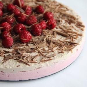 Malinovo - kakaová torta