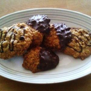 Sušienky z ovsených vločiek a arašidov