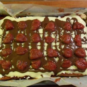 Lahodný jahodový koláč