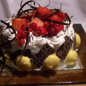 Letná osviežujúca torta