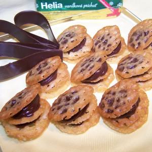 Horká čokoláda s chrumkavou krustou