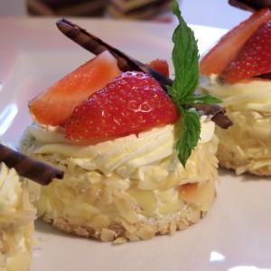 Jahodové tortičky