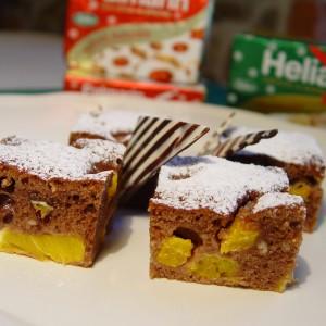 Perníkový koláč s pomarančom